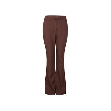 Lofty Manner Lofty Manner Bruine Pantalon Met Ruitjes Verena