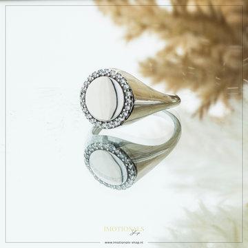 Imotionals Imotionals Vintage Ring Zilverkleurig