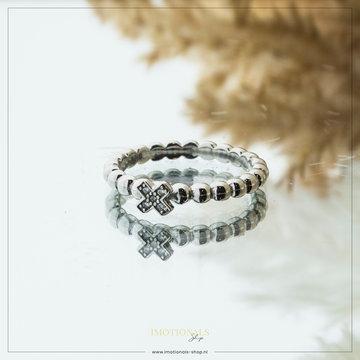 Imotionals Imotionals X Stones Ring Zilverkleurig
