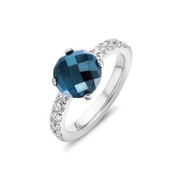 Melano Melano Twisted Crystal Ring