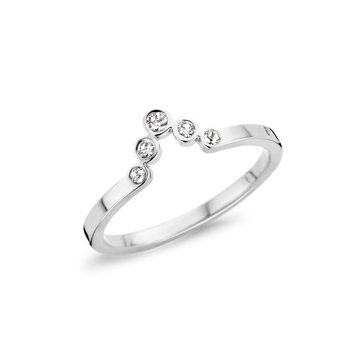 Melano Melano Friends Pointed CZ Ring
