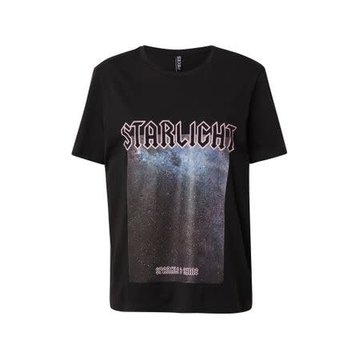 Pieces Pieces Zwart T-Shirt Starlight
