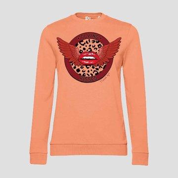 Pinned by K Pinned by K Statement Sweater Oranje
