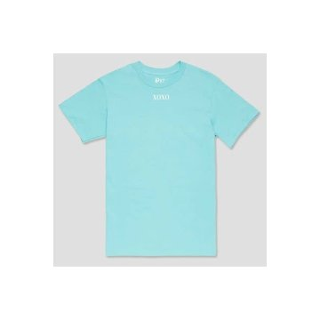 Pinned by K Pinned by K Statement T-shirt Blauw XOXO