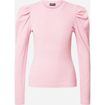 Pieces Pieces Roze T-Shirt Met Pofmouwen