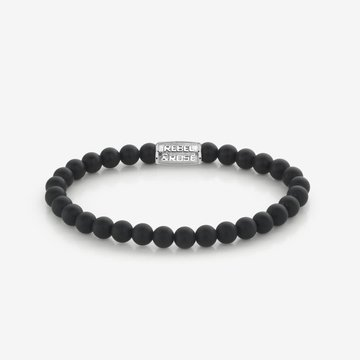 Rebel & Rose Rebel & Rose Small Stones Only Matt Black L