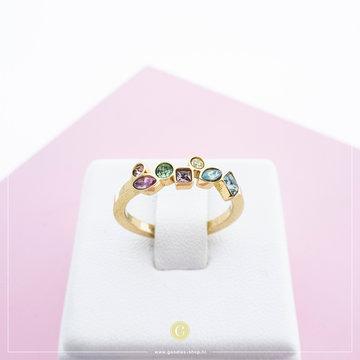 Melano Ring Mosaic Hue