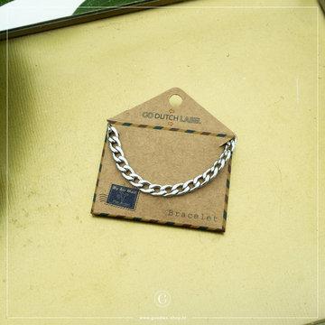 Go Dutch Label Go Dutch Label Zilverkleurige Armband Chain