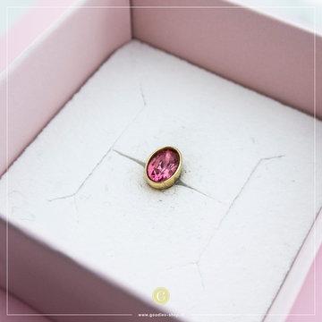 Melano Steen Oval Pink