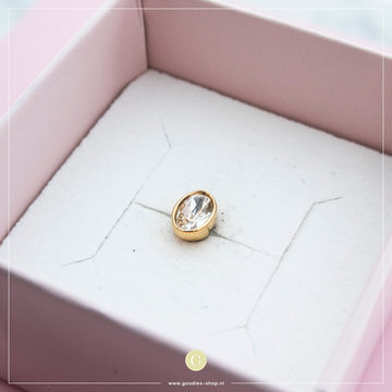 Melano Steen Oval Crystal Rosé