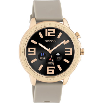 Oozoo Timepieces OOZOO Smartwatch Taupe Q00302