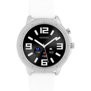 Oozoo Timepieces OOZOO Smartwatch Wit Q00310
