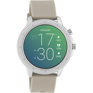 Oozoo Timepieces OOZOO Smartwatch Taupe Q00313