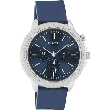 Oozoo Timepieces OOZOO Smartwatch Donker Blauw Q00315