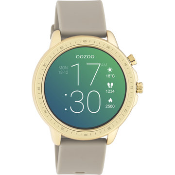 Oozoo Timepieces OOZOO Smartwatch Taupe Q00319