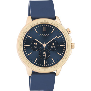 Oozoo Timepieces OOZOO Smartwatch Donker Blauw Q00326
