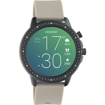 Oozoo Timepieces OOZOO Smartwatch Taupe Q00330