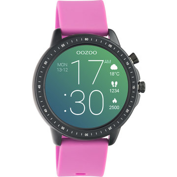 Oozoo Timepieces OOZOO Smartwatch Raspberry Roze Q00331