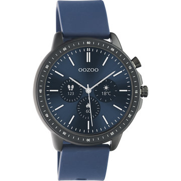Oozoo Timepieces OOZOO Smartwatch Donker Blauw Q00332