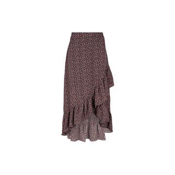 Lofty Manner Lofty Manner Rok Lyna Bloemenprint Zwart / Groen