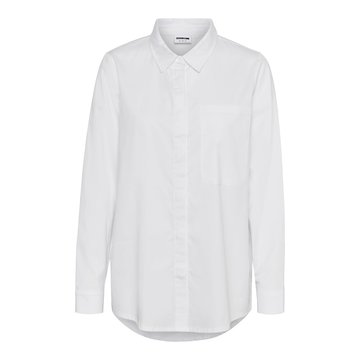Noisy May Noisy May NM Alamo Shirt Bright White