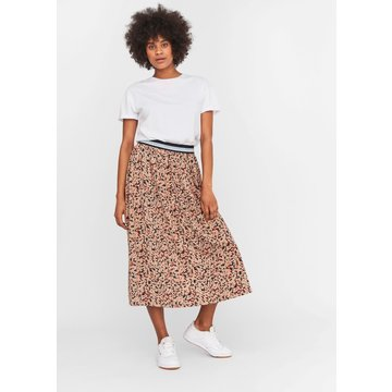 Noisy May Noisy May NM Festive Ankle Skirt Praline / Multi