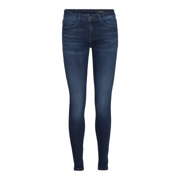 Noisy May Noisy May NM Lucy NW Skinny Jeans Dark Blue Denim