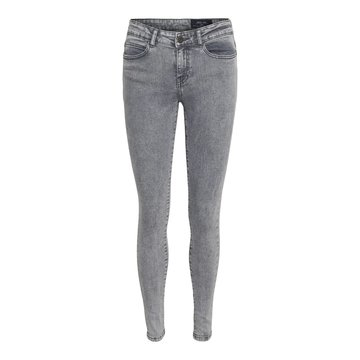 Noisy May Noisy May NM Lucy NW Skinny Jeans Light Grey Denim