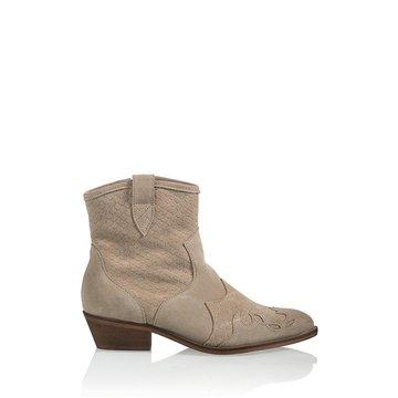 DWRS Label DWRS Label Lucca Beige Suede Boots