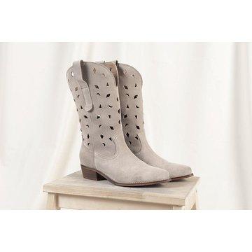 DWRS Label DWRS Label Atlanta Beige Suede Boots