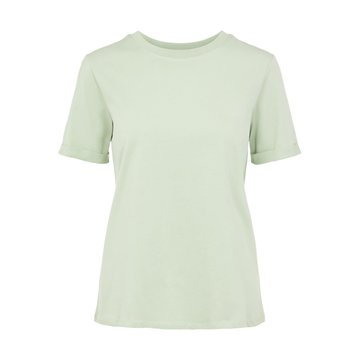Pieces Pieces PC Tee Ria SS Fold Up Solid Desert Sage