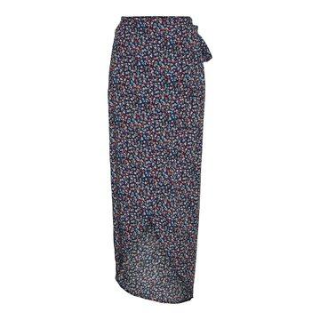 Noisy May Noisy May NM HW Ankle Skirt Black / Flower DUB