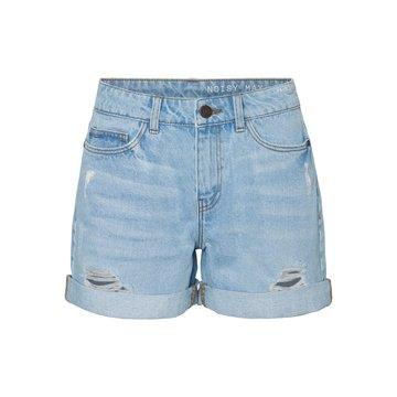 Noisy May Noisy May NMSMILEY NW Dest Shorts VI062LB BG Noos Light Blue Denim