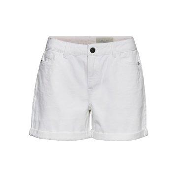 Noisy May Noisy May NMSmiley NW Shorts VI07WH BG S* Bright White