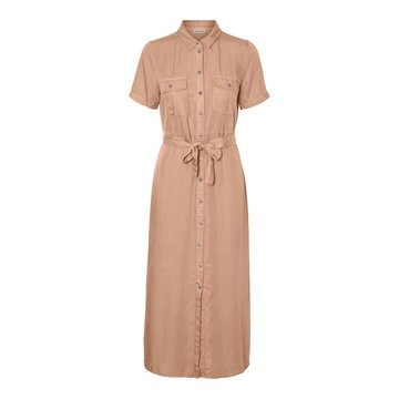 Noisy May Noisy May NMCersei S/S Button Dress Praline