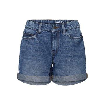 Noisy May NMSmiley HW Shorts BG Noos Medium Blue Denim