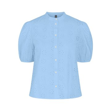 Pieces Pieces PCTillie 2/4 Shirt BC Vista Blue