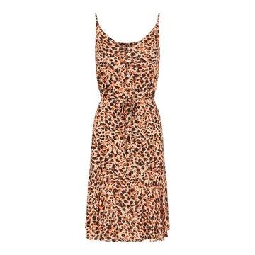 Pieces Pieces PCNYA Slip Button Dress Apricot Cream Leo