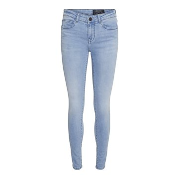 Noisy May NMLucy NW Skinny Jeans Light Blue Denim
