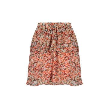 Lofty Manner Lofty Manner Skirt white/peach