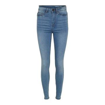 Noisy May Noisy May Nmcallie HW Skinny Jeans VI059LB Noos Light Blue Denim
