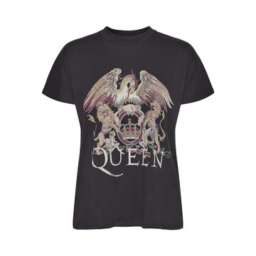 Noisy May Noisy May NMHailey S/L Queen Top BG Obsidian/Queen