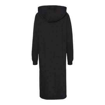 Noisy May Noisy May NMHelene L/S Sweat Dress BG Noos Black