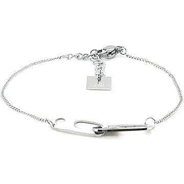 Zag Bijoux Zag Bijoux Armband Zilverkleurig Connected