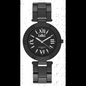 iKKi Horloges iKKi PG 03 Zwart/Zilverkleurig