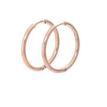 iXXXi Jewelry iXXXi Jewelry Creool 24mm - Rosé