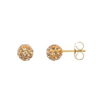 iXXXi Jewelry iXXXi Jewelry  Ear studs Ball - Goudkleurig