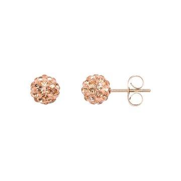 iXXXi Jewelry iXXXi Jewelry  Ear studs Ball - Rosé