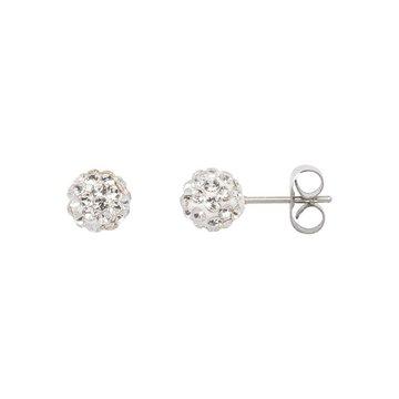 iXXXi Jewelry iXXXi Jewelry  Ear studs Ball - Zilverkleurig