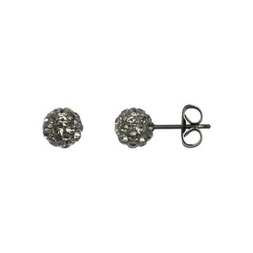 iXXXi Jewelry iXXXi Jewelry  Ear studs Ball - Zwart